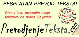 Prevod teksta besplatno